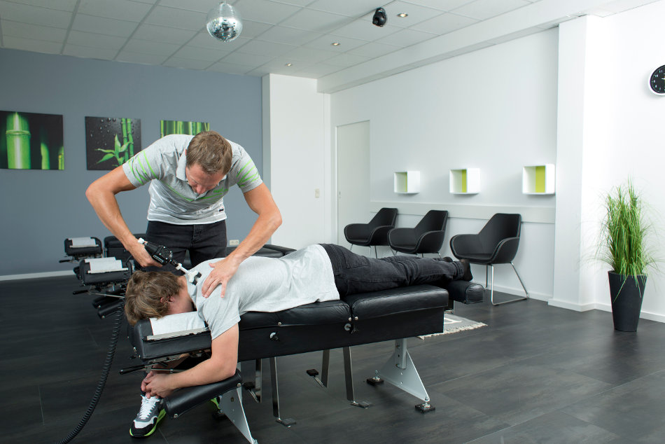 Chiropraktiker Stephan Rainer Behandlung