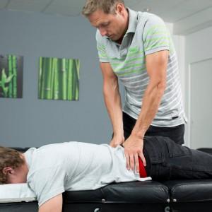 Rücken Behandlung