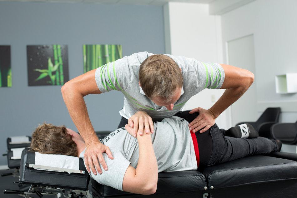 Einränkung chiropraktische Behandlung