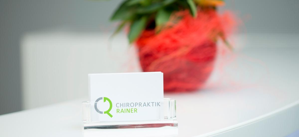 Chiropraktik-Rainer-Visitenkarten