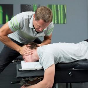 Wirbelsäule Einränkung Chiropraktik